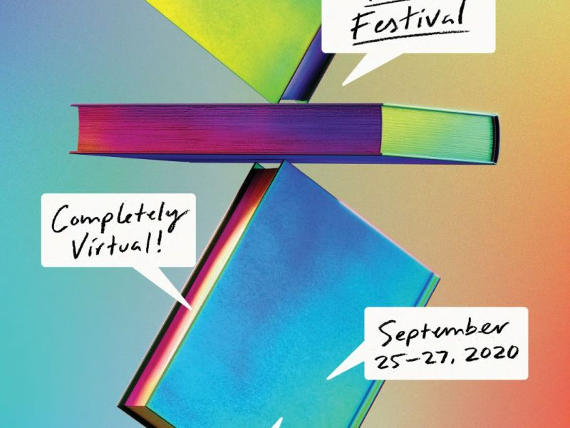 Poster for the 2020 National Book Festival