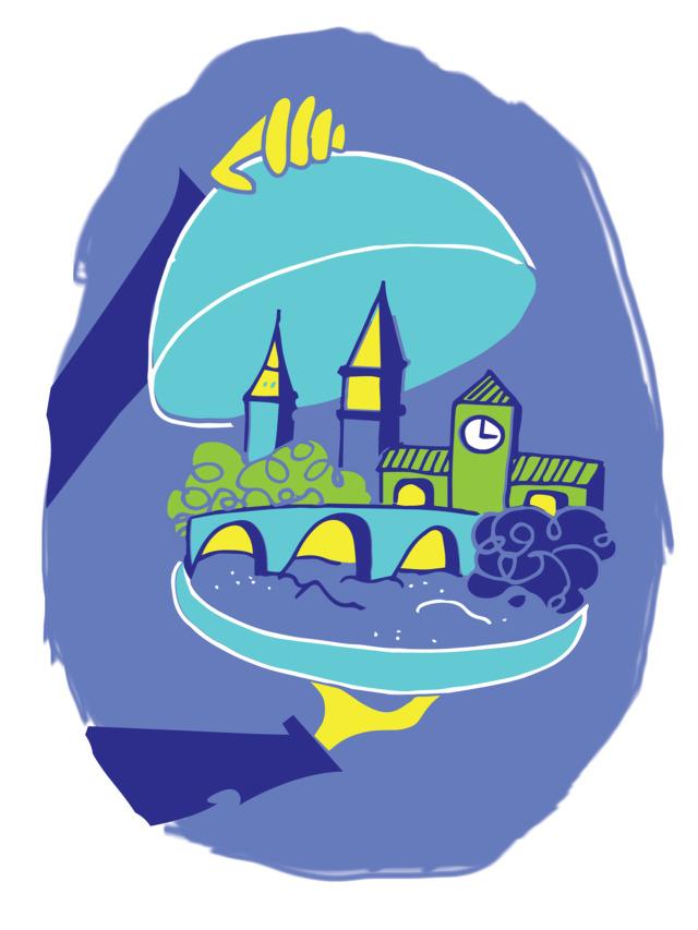 Illustration of the Georgetown neighborhood