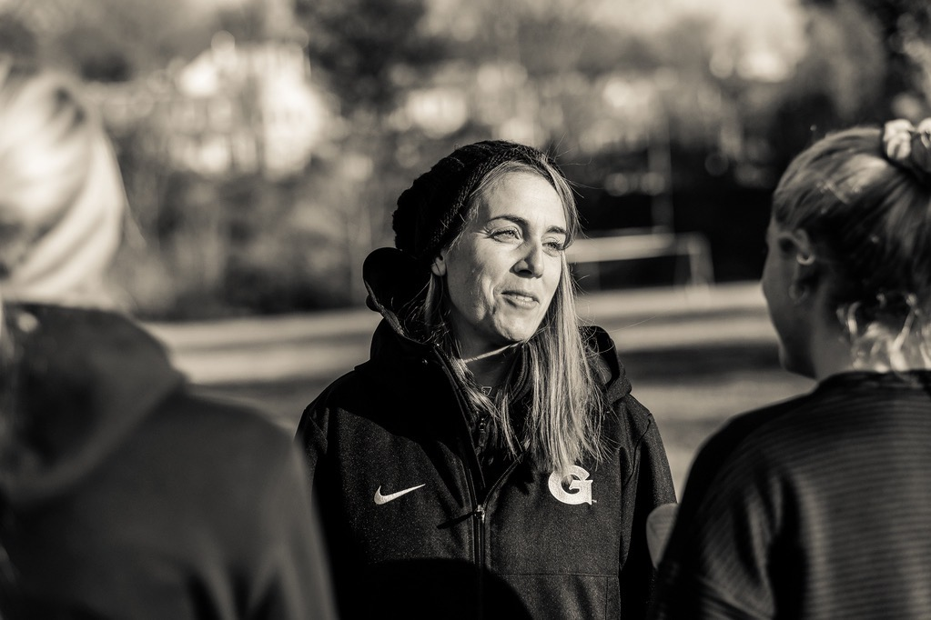 Julie Culley, Georgetown's former director of track and field and cross-country.