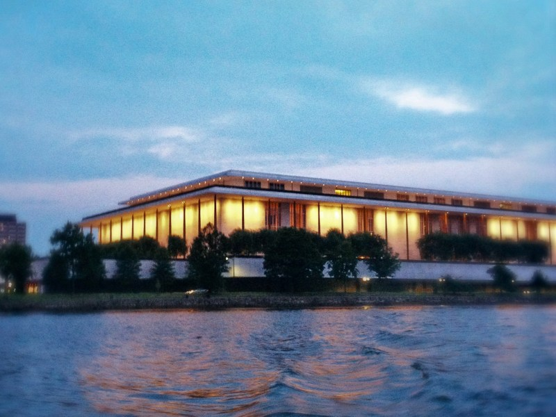 The Kennedy Center at dusk