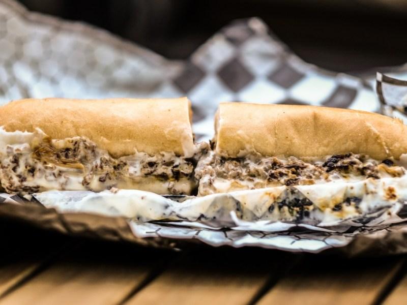 Ghostburger's cheesesteak