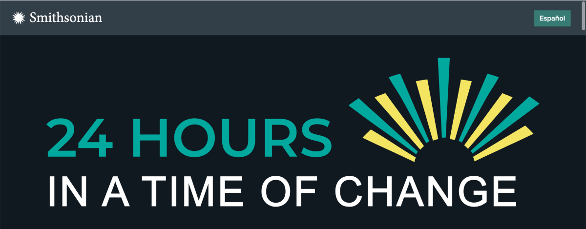 The logo for 24 Hours in a Time of Change.