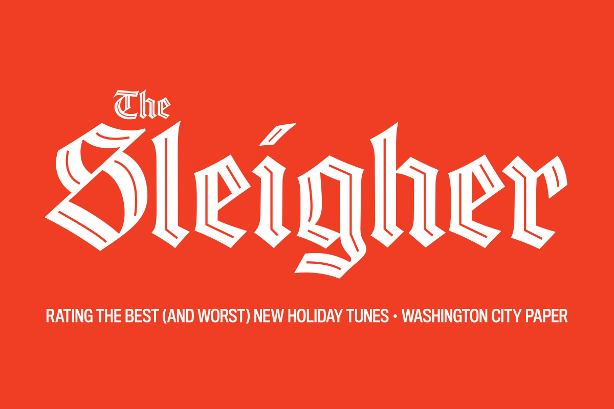 The logo for The Sleigher.