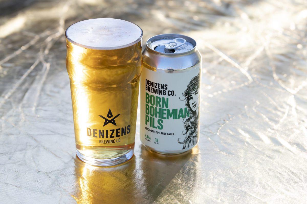 Denizens Brewing Company Born Bohemian Pils