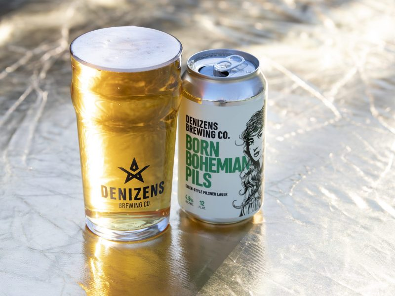 Denizens Brewing Company Born Bohemian Pils