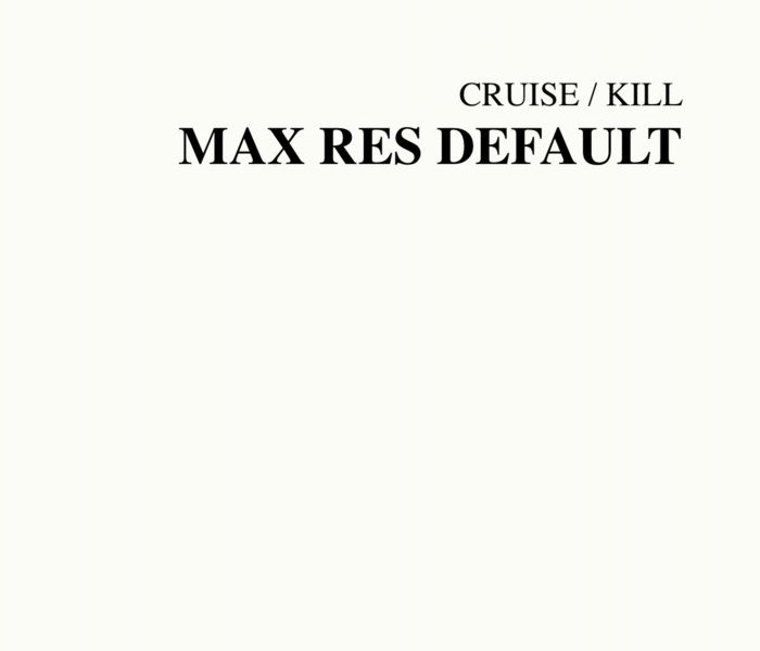 The album cover of Max Res Default by Tony Cruise.