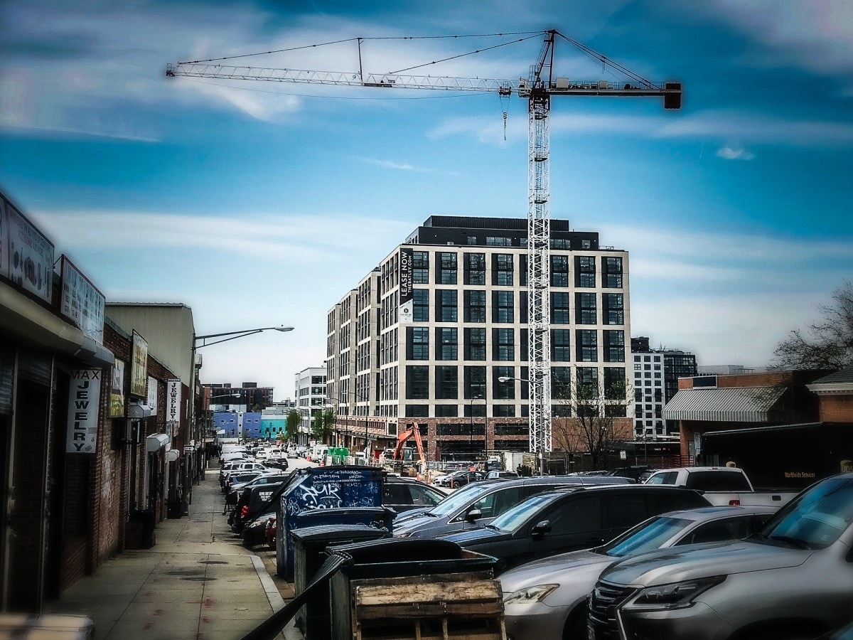 Development near Union Market in 2019
