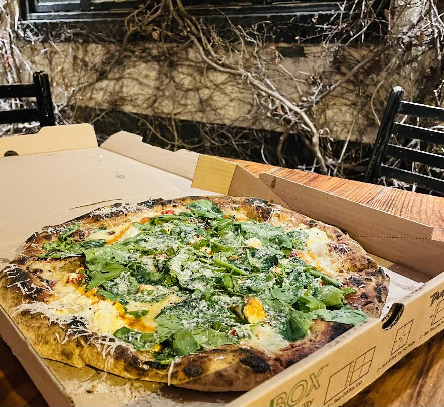 The Fresno pizza at Big Bear Cafe