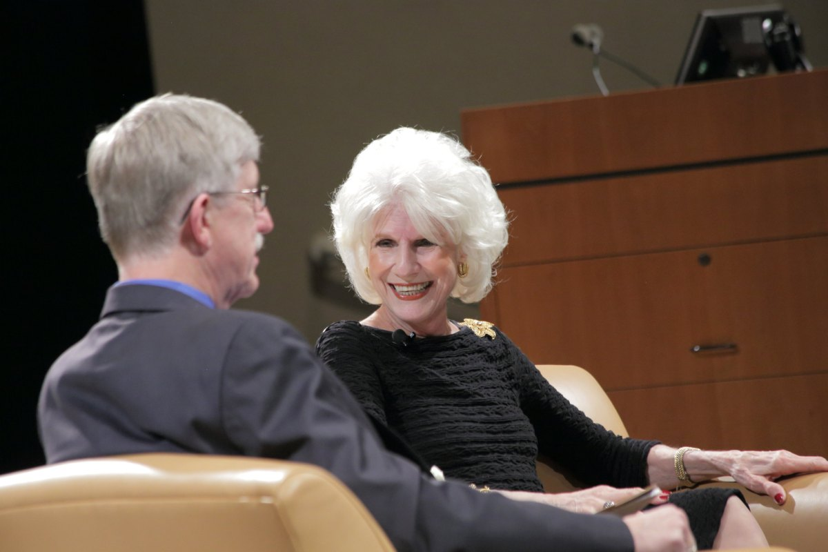 Diane Rehm, whose new film is When My Time Comes.