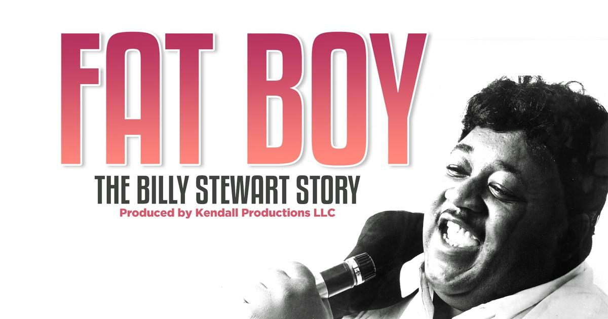 Promotional image for Fat Boy: The Billy Stewart Story