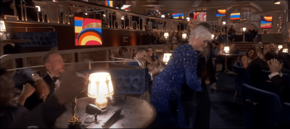 Glenn Close doin' Da Butt.