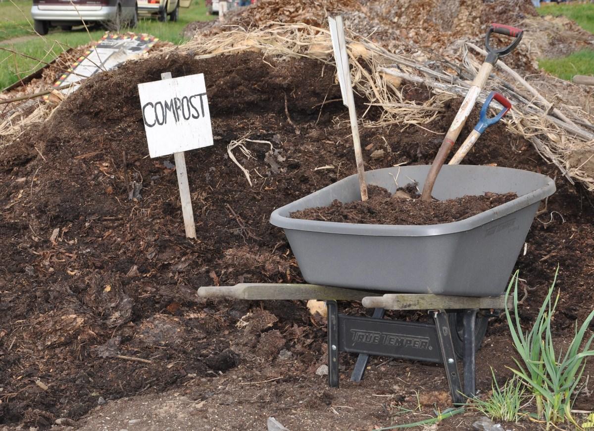 Compost, like the bokashi composting workshop