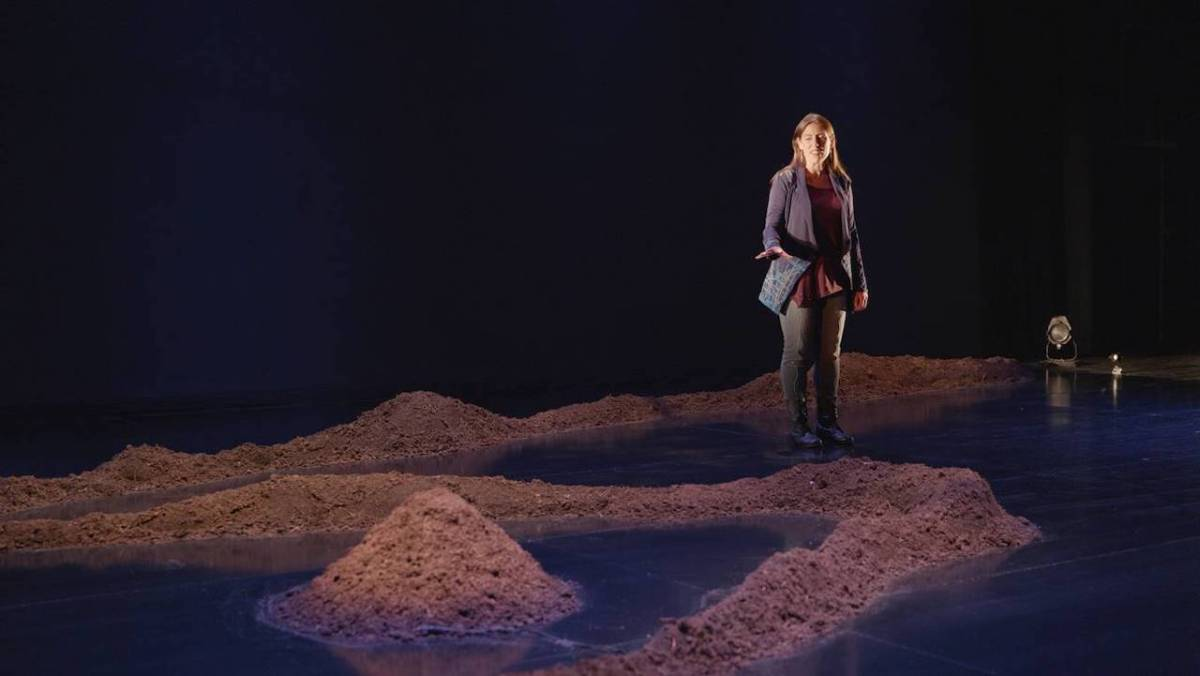 Madeline Sayet's one woman show Where We Belong at Woolly Mammoth