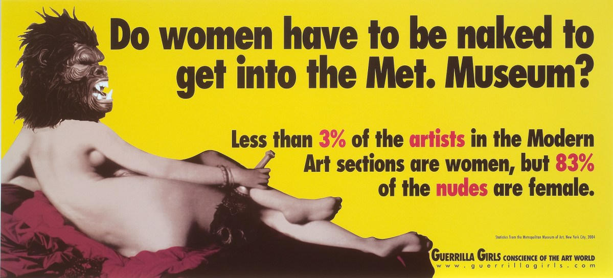 Guerrilla Girls at the National Museum of Women in the Arts