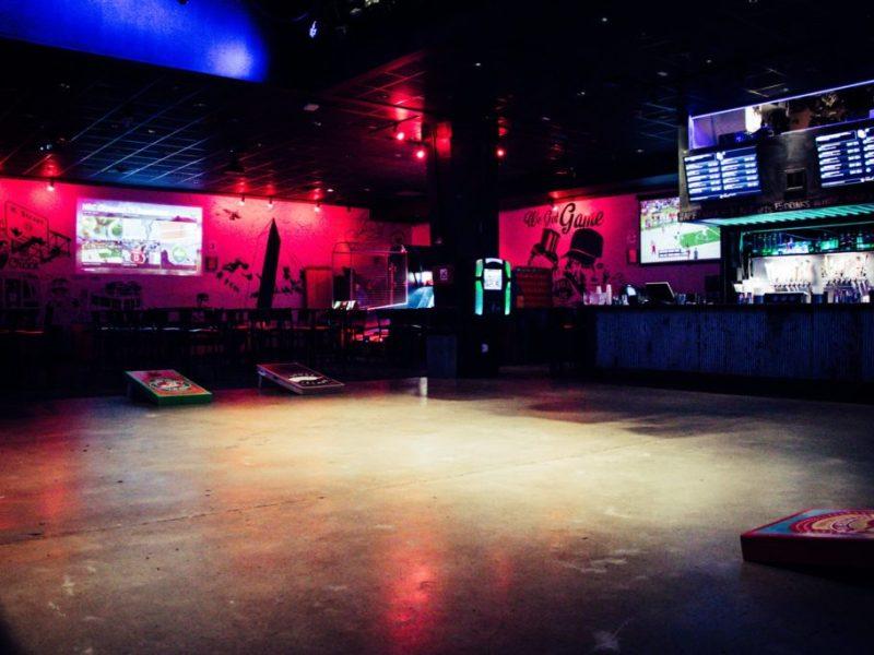 An empty Penn Social