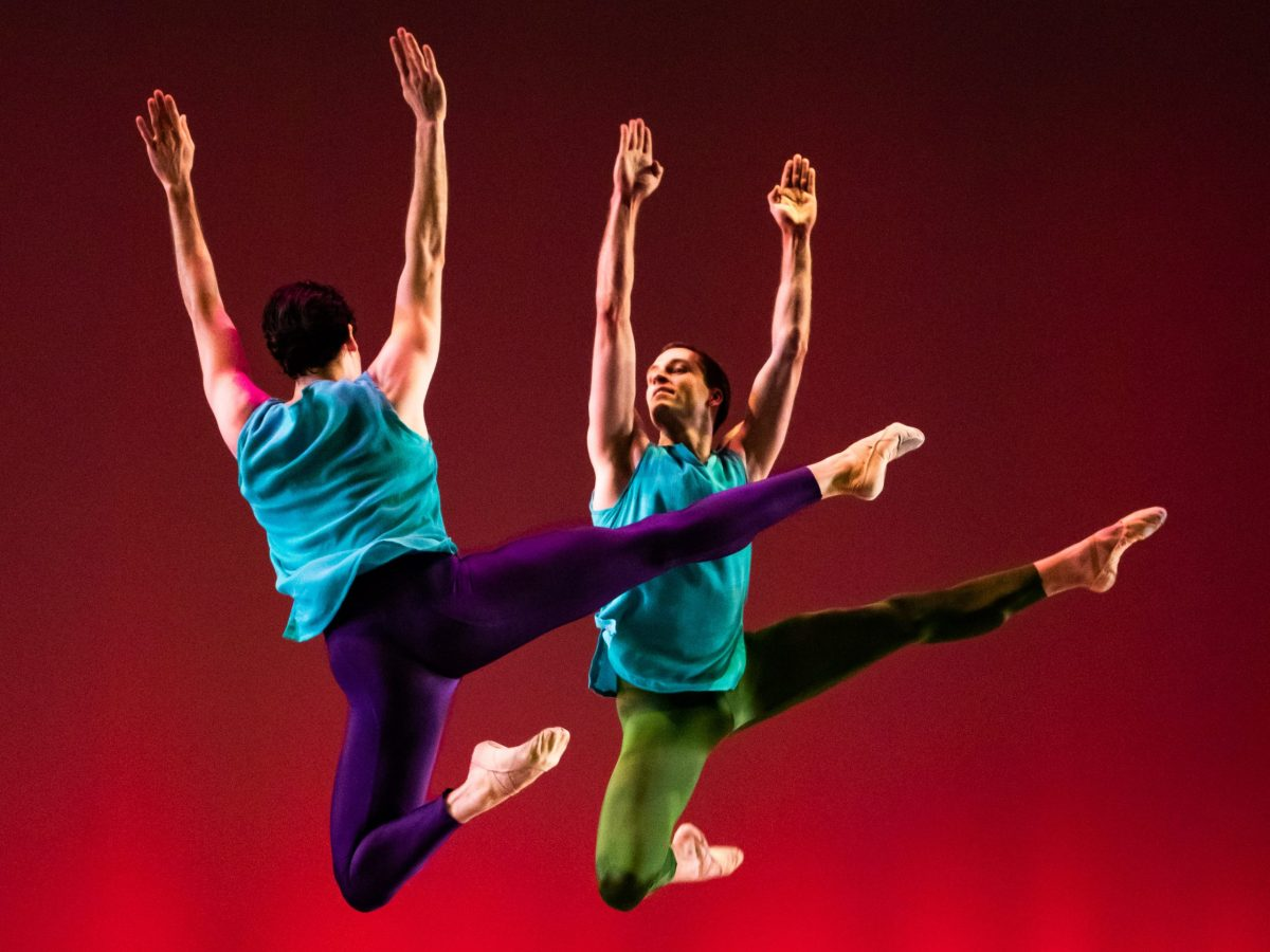 Bowen McCauley Dance Company performing at the Kennedy Center in 2019.