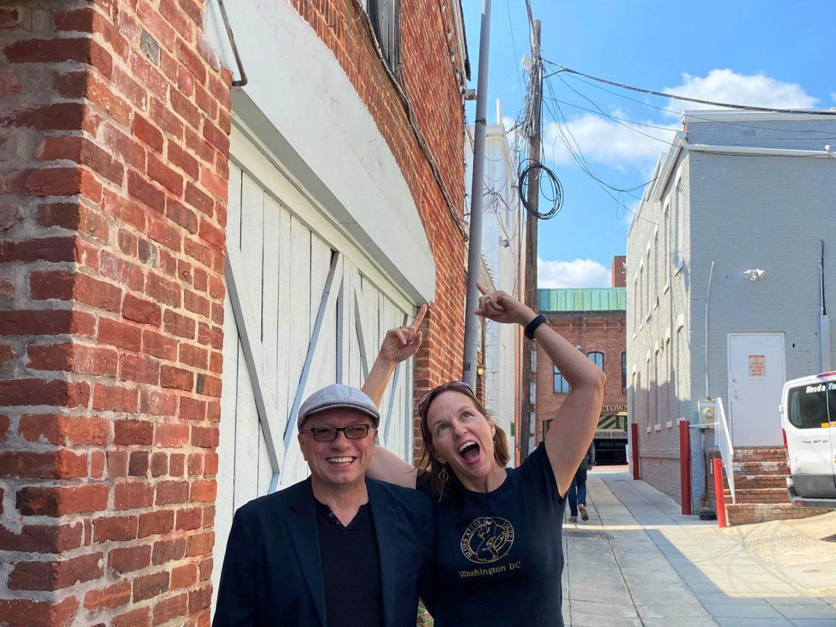 Veronneau at Blues Alley