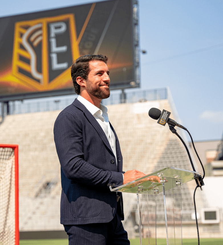 Paul Rabil, a Gaithersburg native, announced his retirement from professional lacrosse at Audi Field in D.C.