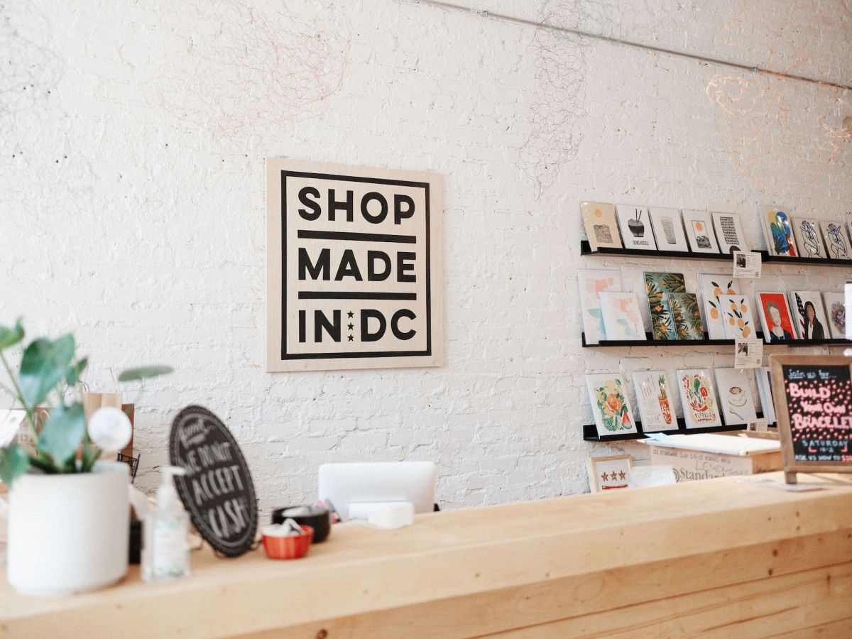 Shop Made in DC's Wine and Watercolors