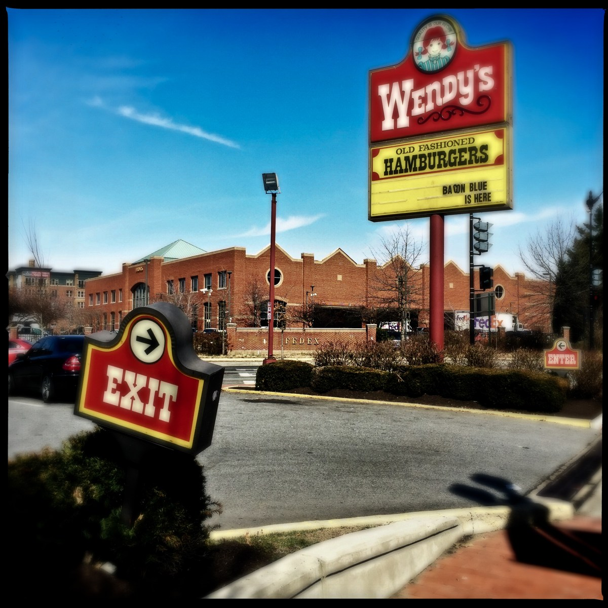 The Wendy's at Dave Thomas Circle, which closed on Tuesday, Sept. 21, 2021.