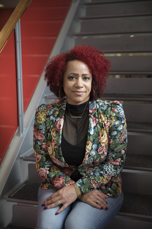 Nikole Hannah-Jones at Books in Bloom, Oct. 10