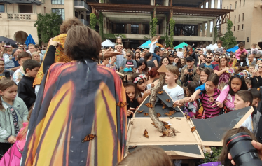 Butterfly release at Pearl