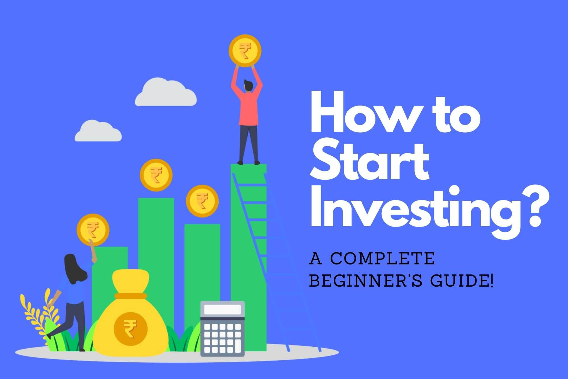 How to invest money in stock market online in India