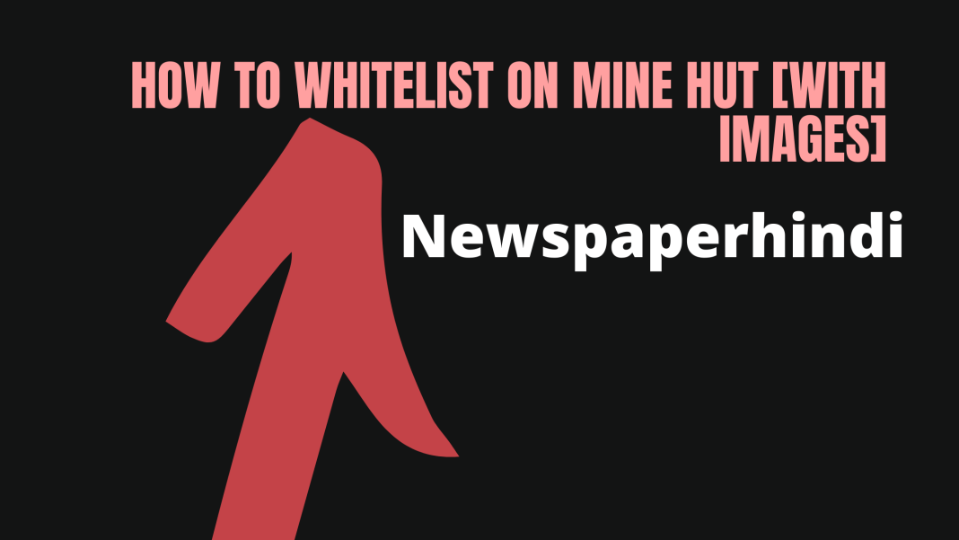 How to whitelist on mine hut [with images]