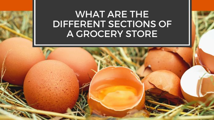 What Are the Different aisle in grocery store?