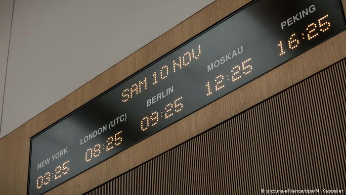 World clock at the situation room