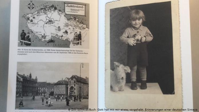 A page in the book shows Zilli Schmidt's daughter