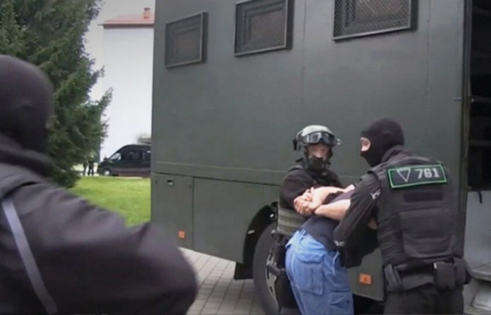 Задержанных