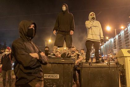 Силовики покинули Минск