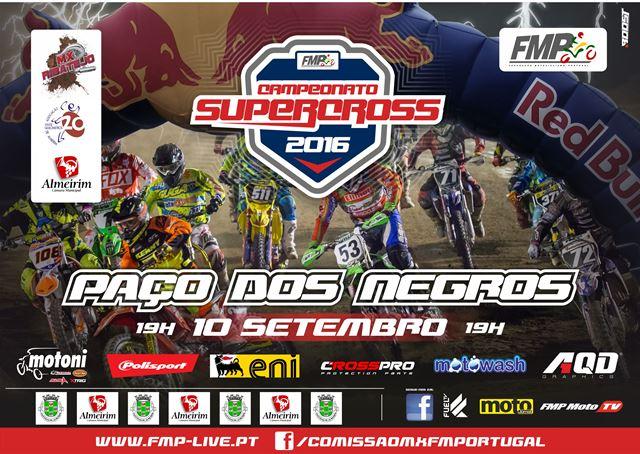 Paço dos Negros palco de todas as decisões no Supercross