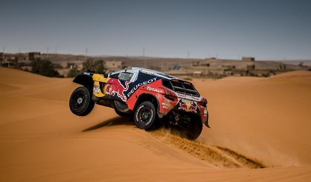 PEUGEOT 3008 DKR: objectivo Dakar!