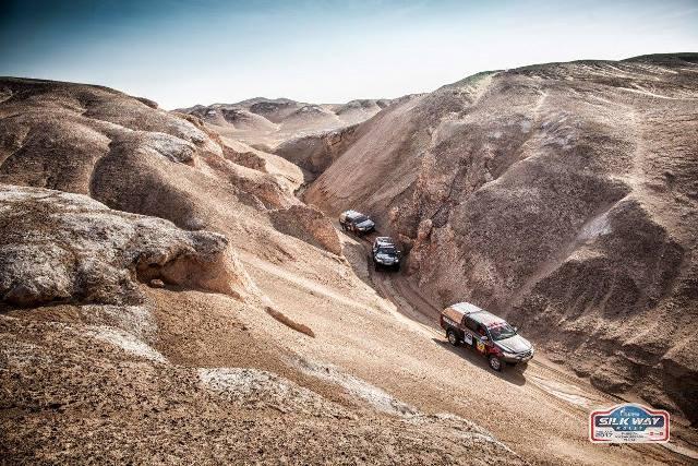 VÍDEO: SilkWay Rally 2017 - a conquista das areias