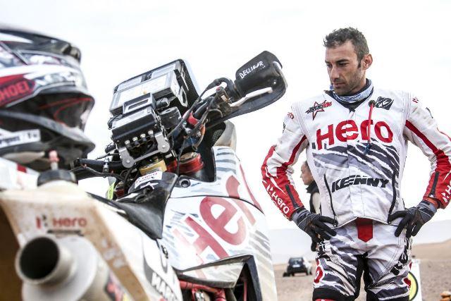 ÚLTIMA HORA: Dakar - Joaquim Rodrigues atirado para fora do TOP10