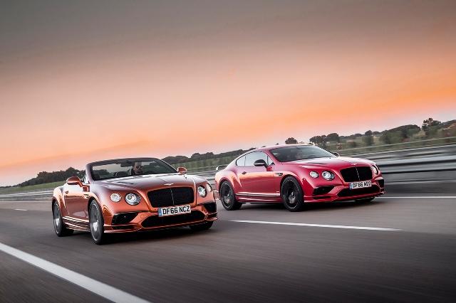Bentley no Salão de Genebra - do luxo ao extremo desempenho em estrada