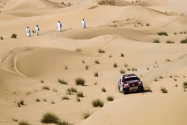 Nasser Al-Attiyah vence Dubai International Baja