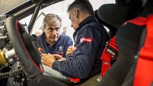 """""""Gostaria que o Sainz ganhasse o Dakar com a Peugeot"""""""