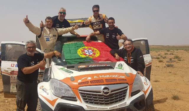 """""""Os Nunos"""" no TOP5 do Morocco Desert Challenge"""