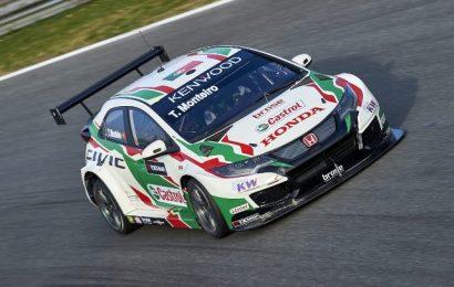 Tiago Monteiro foi o 2º mais rápido no primeiro treino