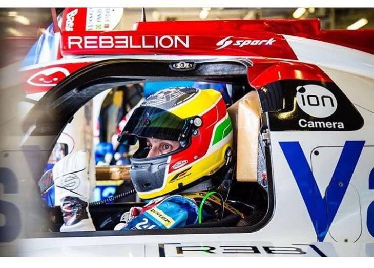 Filipe Albuquerque no pódio em Nurburgring