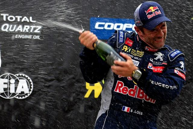 Sébastien Loeb alcança terceiro pódio consecutivo no Canadá