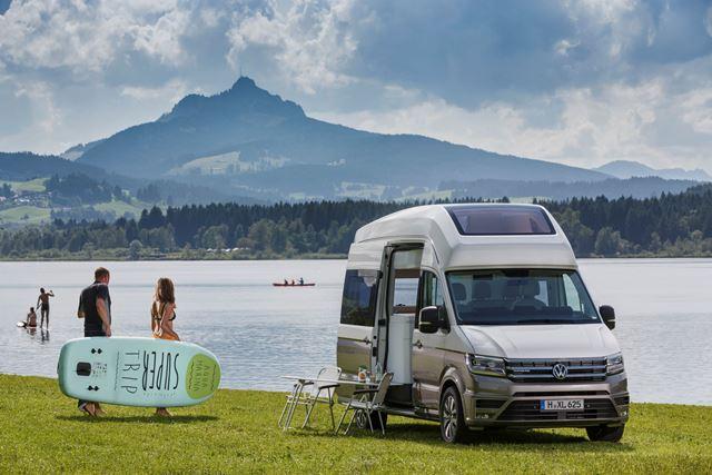 Apresentação mundial da Volkswagen California XXL