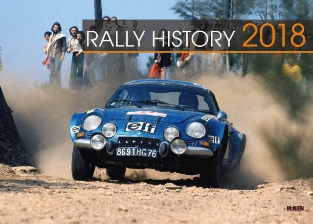 Rally History 2018 Calendar já disponível