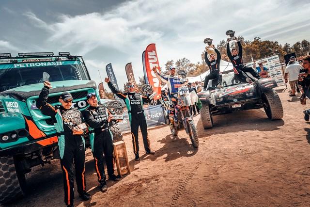 Gerard De Rooy vence Africa Eco Race 2018