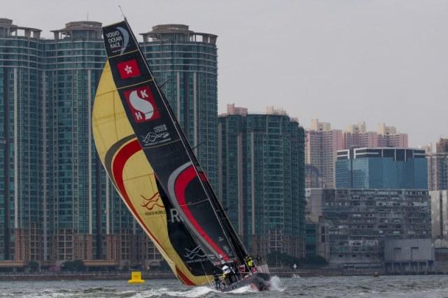 HGC In-Port Race traz os melhores velejadores da Volvo Ocean Race a Hong Kong