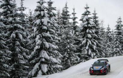Domínio da Hyundai no Rali da Suécia