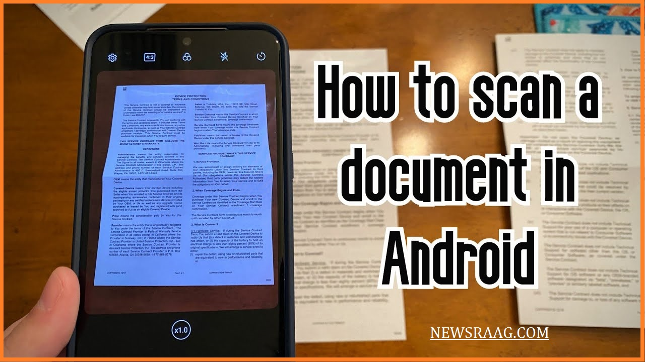 how to scan by mobile